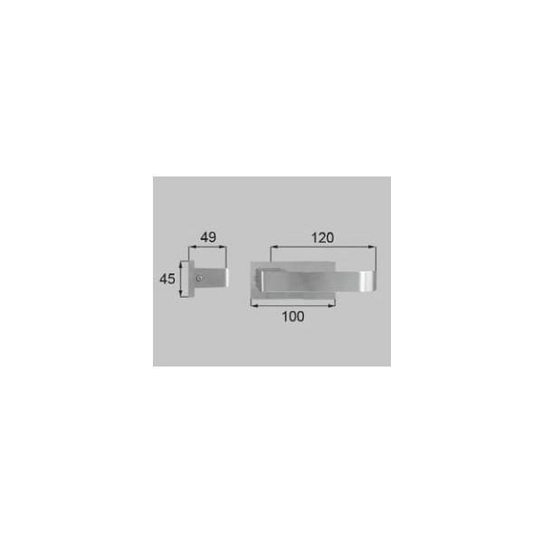 リクシル リビング建材用部品 ドア ハンドル:セレクトF丸座ハンドル空錠 MZSZFF014 LIXIL トステム メンテナンス DIY リフォーム