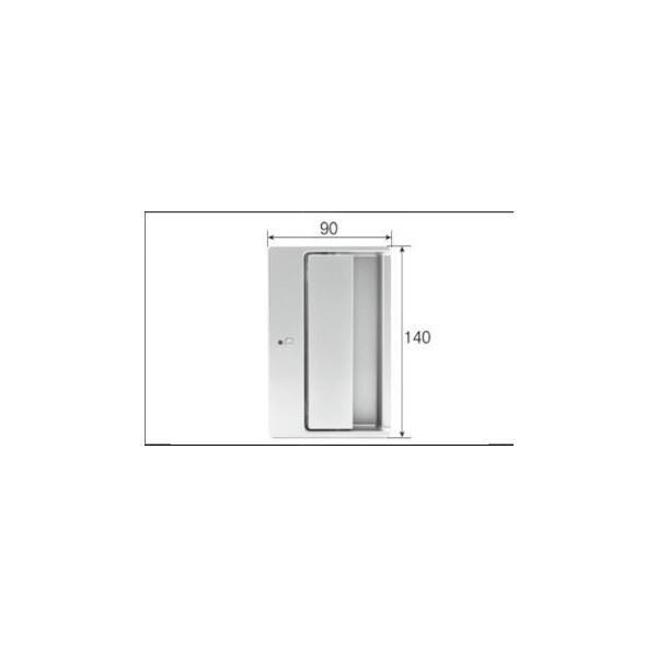 リクシル リビング建材用部品 ドア ハンドル:フラットプッシュプルハンドル表示錠 MZTZPBH02 ※メーカー在庫限り LIXIL トステム メンテナンス DIY リフォーム