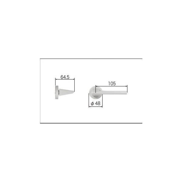 リクシル リビング建材用部品 ドア ハンドル:スタイルFタイプ把手空錠 MZTZTFS52 LIXIL トステム メンテナンス DIY リフォーム