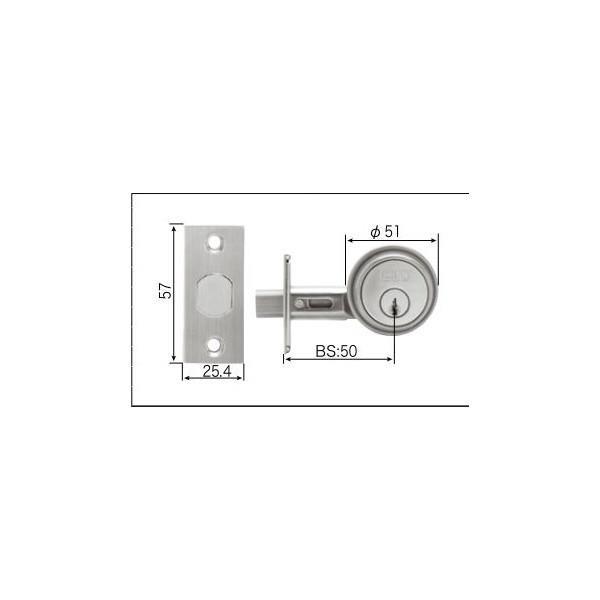 リクシル リビング建材用部品 ドア ラッチ・錠:デッドロック錠 MZTZZAD05 LIXIL トステム メンテナンス DIY リフォーム