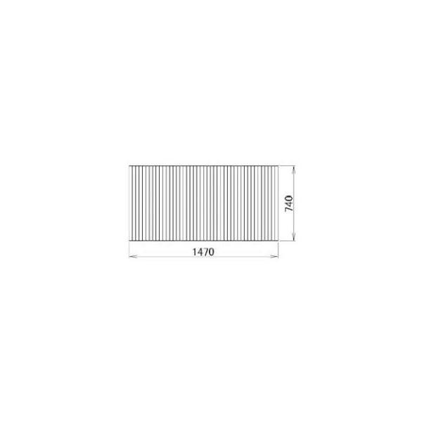 リクシル 住器用部品 バスルーム 浴槽 浴槽蓋:巻き蓋 740×1470 RGFZ201 LIXIL トステム メンテナンス DIY リフォーム