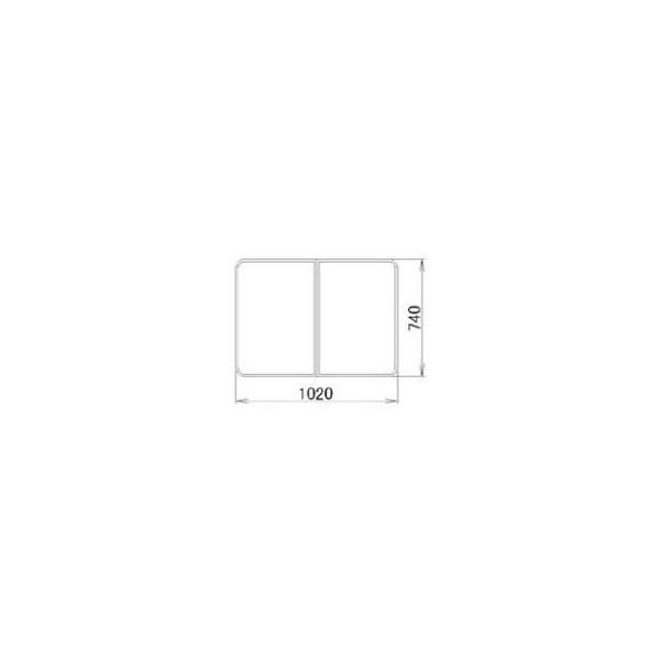 リクシル 住器用部品 バスルーム 浴槽 浴槽蓋:組み蓋 740×1020 RGFZ313 LIXIL トステム メンテナンス DIY リフォーム