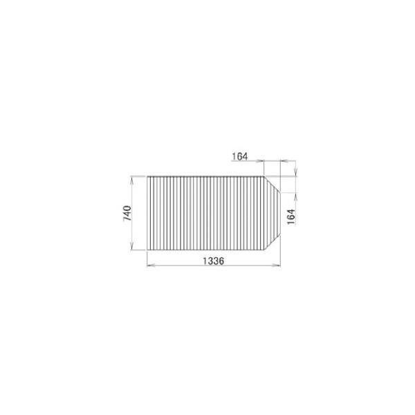 リクシル 住器用部品 バスルーム 浴槽 浴槽蓋:巻き蓋 740×1336 RKFZ101 LIXIL トステム メンテナンス DIY リフォーム