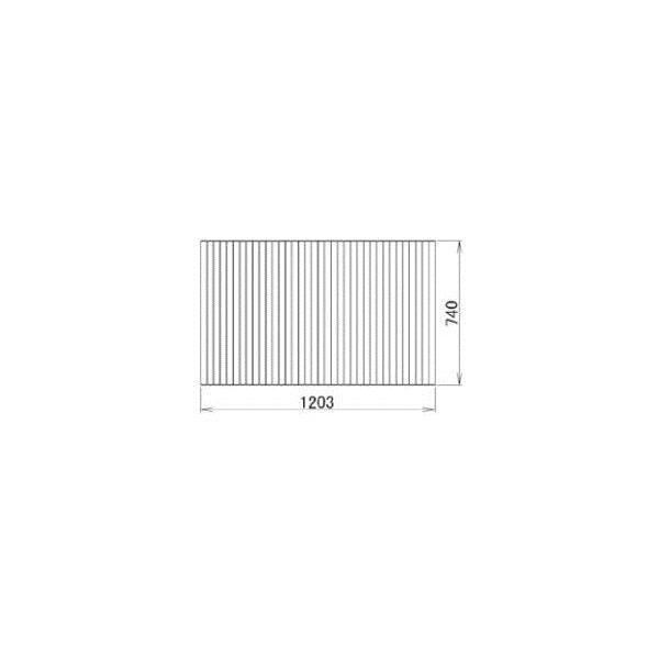 リクシル 住器用部品 バスルーム 浴槽 浴槽蓋:巻き蓋 740×1203 RMBX026 LIXIL トステム メンテナンス DIY リフォーム