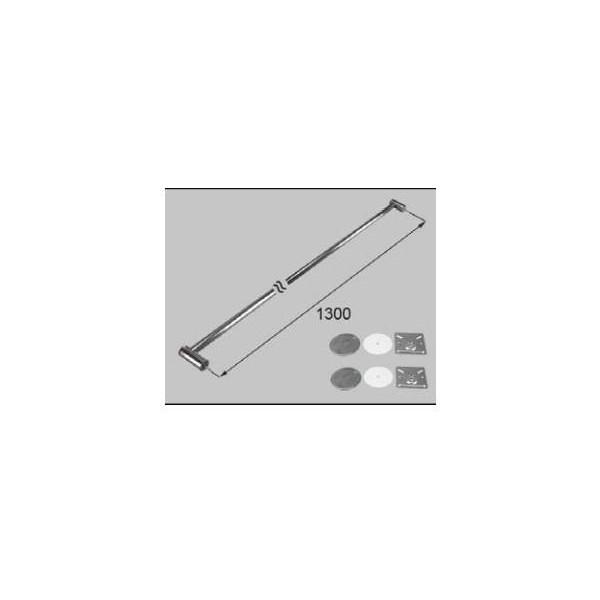 リクシル 住器用部品 バスルーム 器具 握りバー・タオル掛け:金属製ニギリバーI型 1300 RTZZ003 LIXIL トステム メンテナンス ※メーカー在庫限り DIY リフォーム