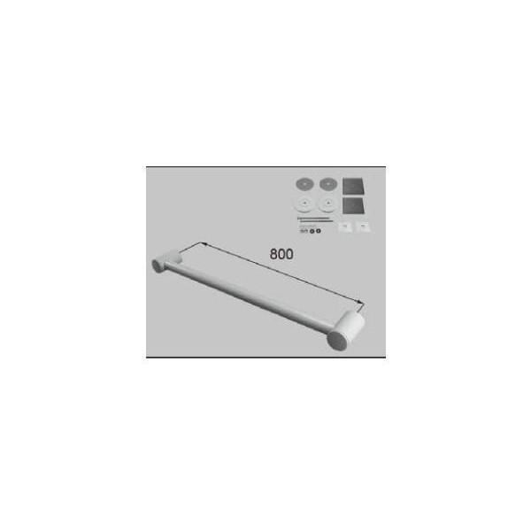 リクシル 住器用部品 バスルーム 器具 握りバー・タオル掛け:樹脂製ニギリバーI型 800 RTZZ007 LIXIL トステム メンテナンス ※メーカー在庫限り DIY リフォーム