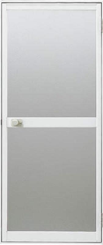 浴室ドア 外付型 握り玉タイプ 樹脂パネル入り 0618 W:606mm × H:1733.5mm 三協アルミ