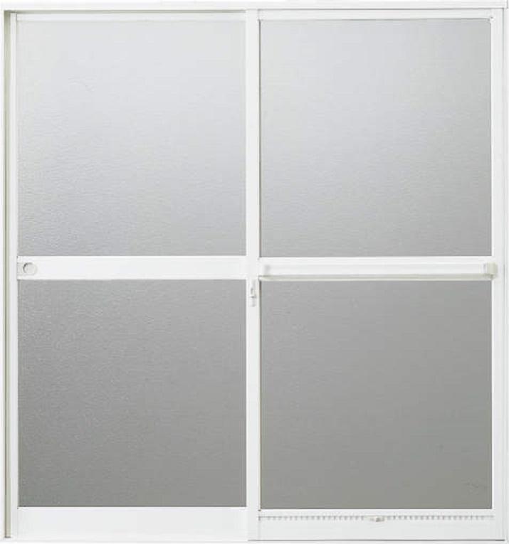 浴室引違い戸 半外付型 樹脂パネル付き 1218 W:1,200mm × H:1,757mm 三協アルミ