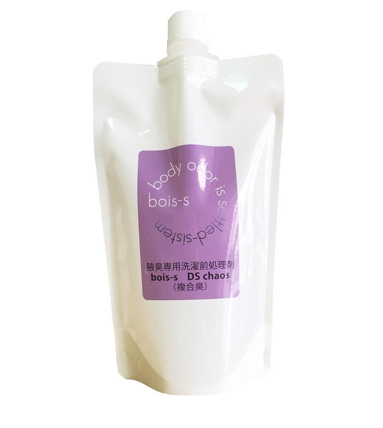 洗剤 DSシリーズ DSカオス 特殊な体臭・ワキガ臭用 400ml 5本 詰め替え用 パウチパック 消臭 株式会社ベネフィット-イオン