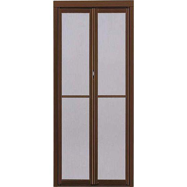 中折網戸 NHM型 ドア用 一般タイプ サイズ呼称:91218 W:910mm × H:2,180mm YKK AP