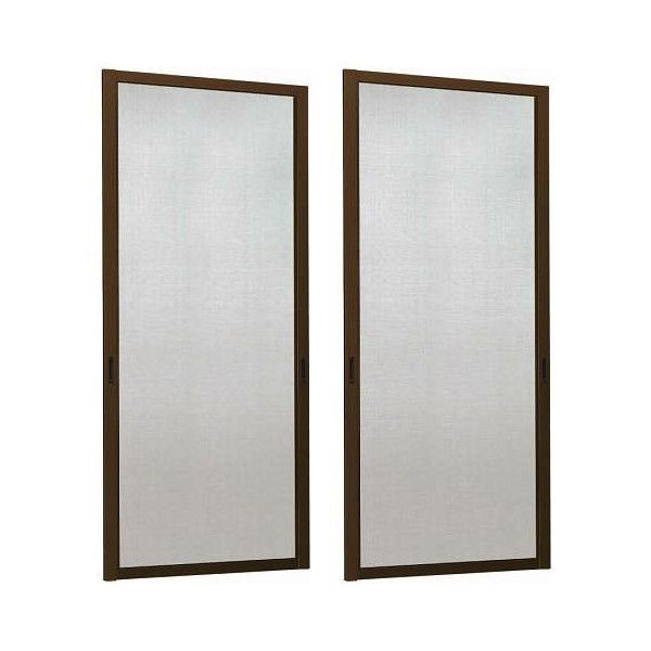 スライド網戸 引き違い窓 4枚建用 特注サイズ W:801~900mm × H:1801~1900mm YKK AP ※網戸1枚分の寸法です