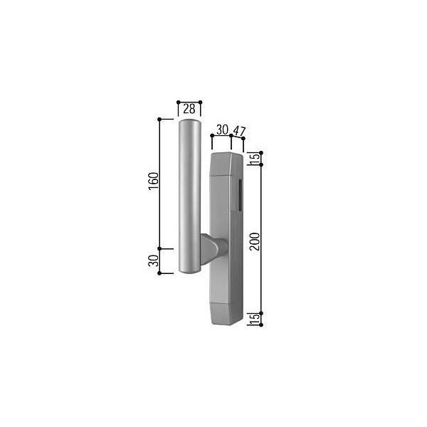 【YKKAPメンテナンス部品】サポートハンドル(HH-4K-11296) DIY リフォーム
