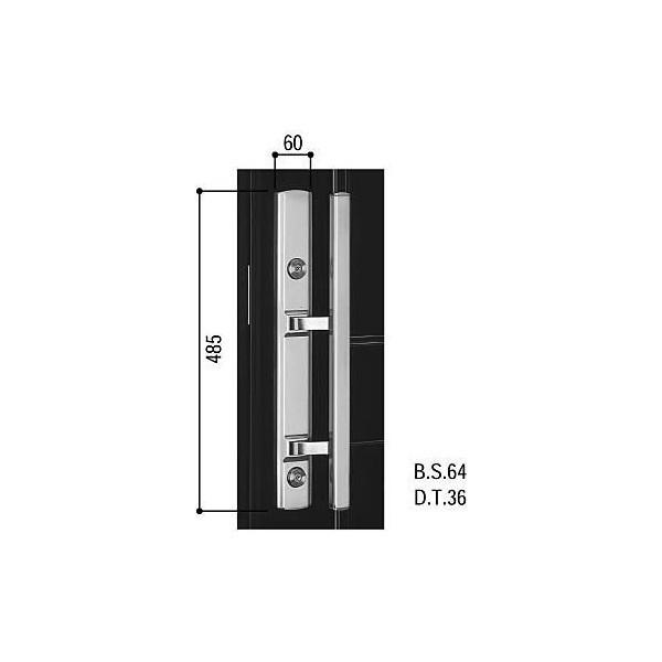 【YKKAPメンテナンス部品】プッシュプルハンドル(HH-J-0116) DIY リフォーム