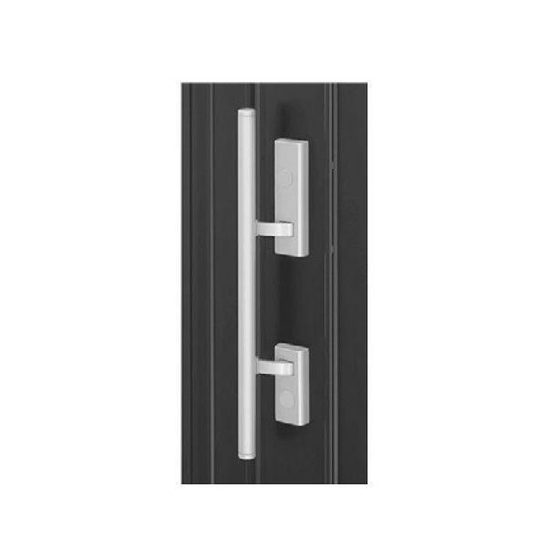 【YKKAPメンテナンス部品】プッシュプル 両開き用固定ハンドル(HH-3K-16517) DIY リフォーム