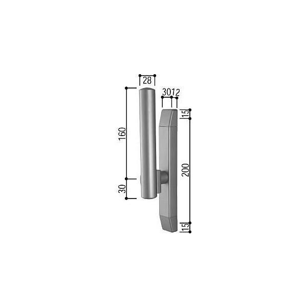 【YKKAPメンテナンス部品】サポートハンドル(HH-4K-11279) DIY リフォーム