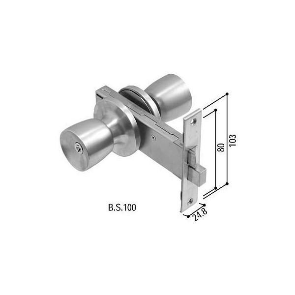 【YKKAPメンテナンス部品】握り玉錠セット(HH-J-0528U9) DIY リフォーム