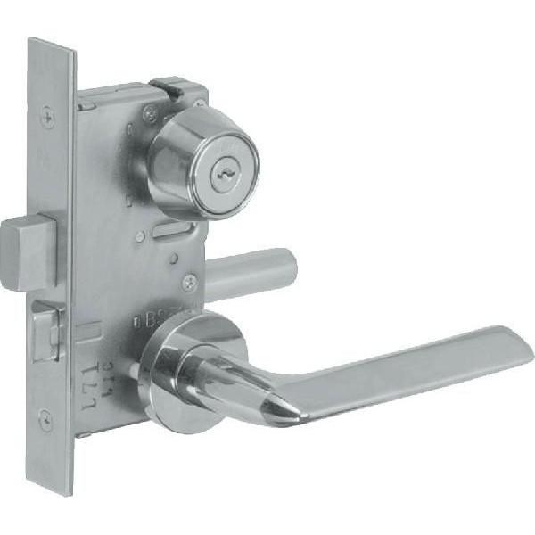 【YKKAPメンテナンス部品】レバーハンドル錠セット(HH-2K-14774) DIY リフォーム