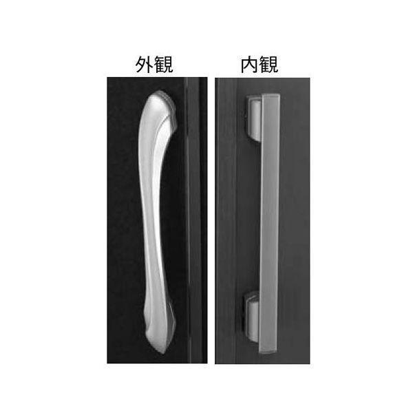【YKKAPメンテナンス部品】プッシュプル 両開き用固定ハンドル(HH-3K-17162) DIY リフォーム