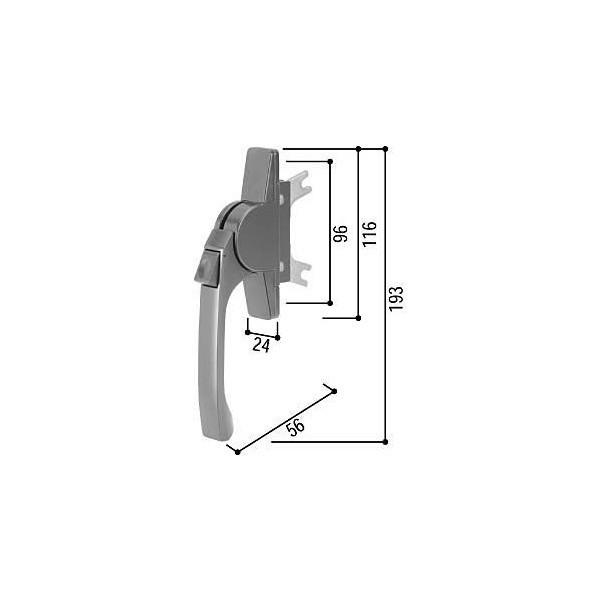 【YKKAPメンテナンス部品】グレモンハンドル(HH-3K-17199) DIY リフォーム