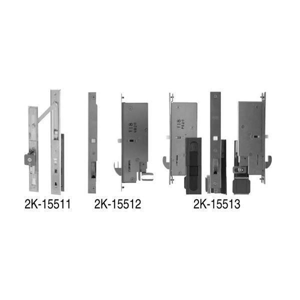 【YKK AP メンテナンス部品】 引戸錠セット 2枚建用 (HH-DHL-101)