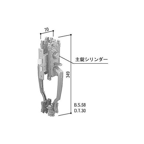 【YKKAPメンテナンス部品】交換用シリンダー(HH-J-0024) DIY リフォーム