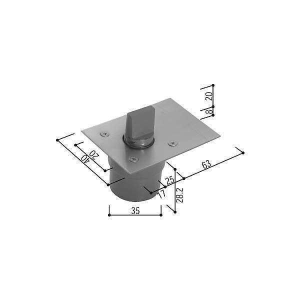 【YKKAPメンテナンス部品】ピボットヒンジアーム(HH-K-12919) DIY リフォーム
