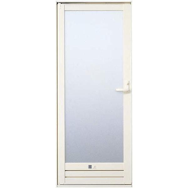 サニセーフII ドア CGタイプ 片開き 半外付型 レバーハンドル仕様 樹脂板入り 特注サイズ W:553~903mm × H:1,524~2,124mm 浴室出入口 YKK AP