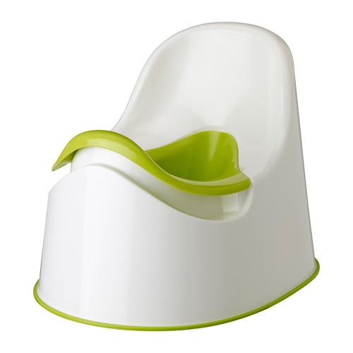 送料無料 IKEAイケア ベビー おむつ トイレ用品 IKEA イケア LOCKIG c40193129 お洒落 おまる 緑 白 送料0円 グリーン ホワイト