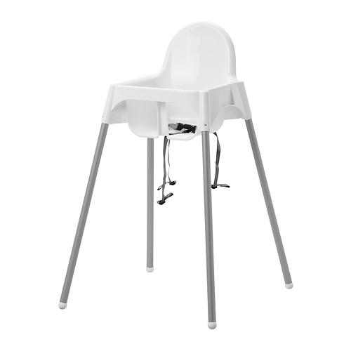 <title>送料無料 IKEA 祝日 イケア ベビー 家具 ベビーチェア 椅子 ハイチェア 安全ベルト付き ホワイト シルバーカラー a89046231 ANTILOP</title>