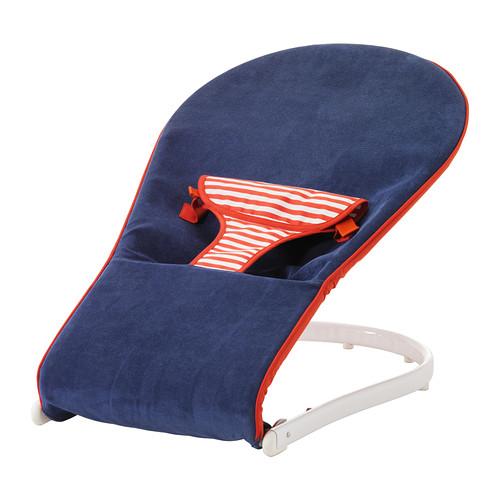 IKEA イケア TOVIG バウンサー ブルー レッド c90167972