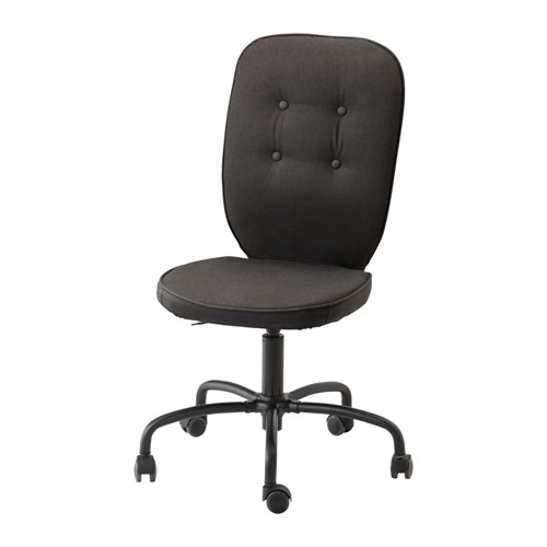 IKEA(イケア) LILLHOJDEN 回転チェア イーデモ ブラック c50221400
