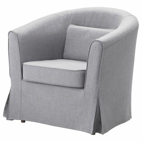 IKEA イケア TULLSTA トュルスタ アームチェア用カバー ノールドヴァッラ ミディアムグレー z00320902
