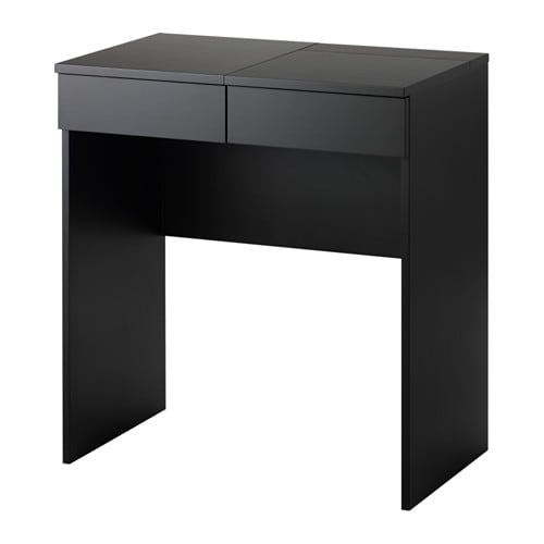 IKEA イケア BRIMNES ブリムネス ドレッシングテーブル ブラック z10355420