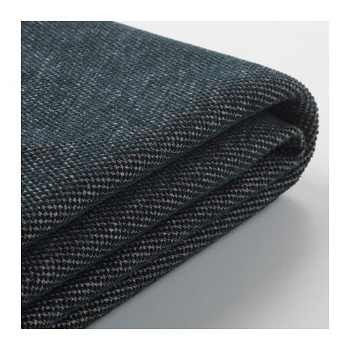 IKEA イケア VIMLE ヴィムレ カバー フットスツール収納付用 タルミーラ ブラック/グレー z20409644