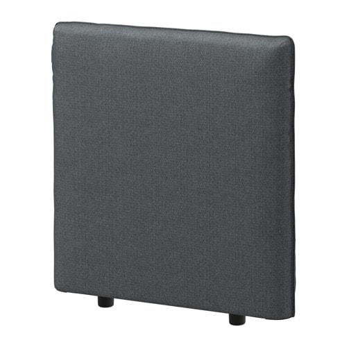 IKEA(イケア) VALLENTUNA ヴァレントゥナ 背もたれ ヒッラレド ダークグレー z49149820