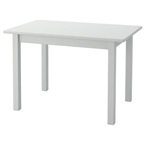送料無料 IKEA イケア ベビー 家具 子供部屋 グレー 子ども用テーブル m40494033 訳あり商品 SUNDVIK テーブル 76x50cm 贈答品