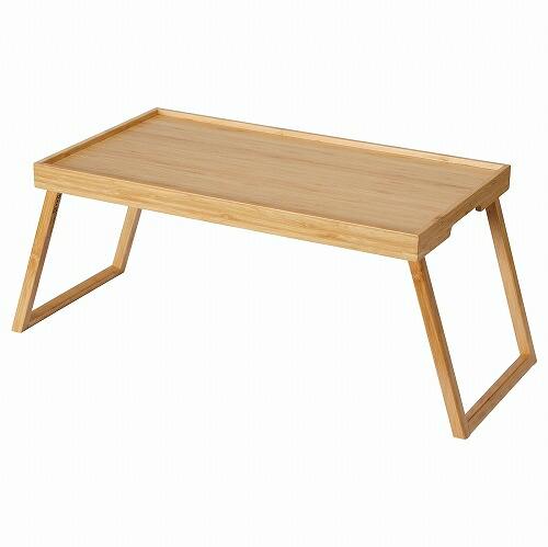 販売実績No.1 お見舞い 送料無料 IKEA イケア ベッド トレーテーブル ベッドトレイ n10444469 RESGODS 竹
