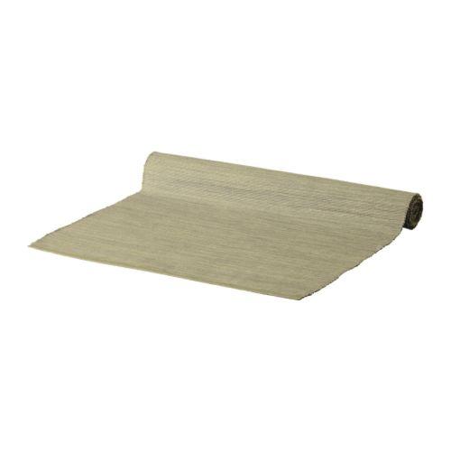 送料無料 IKEA イケア 未使用品 キッチン テーブルカバー 付与 a30246190 ベージュ テーブルランナー MARIT