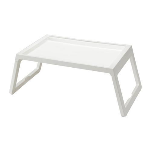 送料無料 セール開催中最短即日発送 IKEA イケア ベッド トレーテーブル 白 ホワイト 豊富な品 d10289086 KLIPSK ベッドトレイ