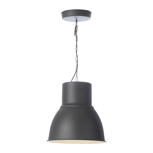 IKEA イケア HEKTAR ペンダントランプ ダークグレー b00216533