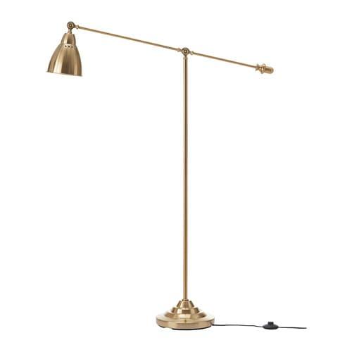 送料無料 IKEA イケア 照明 フロアスタンド 黄銅色 z00358056 2020秋冬新作 爆安プライス BAROMETER ライト フロア読書ランプ