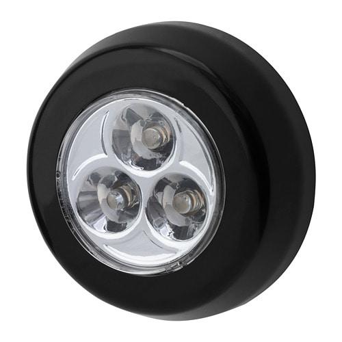 特価キャンペーン 送料無料 IKEA イケア 照明 ライト LED 多目的ライト LEDミニランプ 電池式 ブラック 黒 現金特価 RAMSTA z50416860