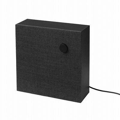 IKEA イケア Bluetooth スピーカー, ブラック 30x30 cm n20357466 ENEBY