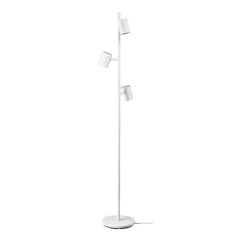 送料無料 IKEA イケア 照明 フロアスタンド ライト m70455488 新作多数 3スポット フロアランプ 日本未発売 NYMANE ホワイト