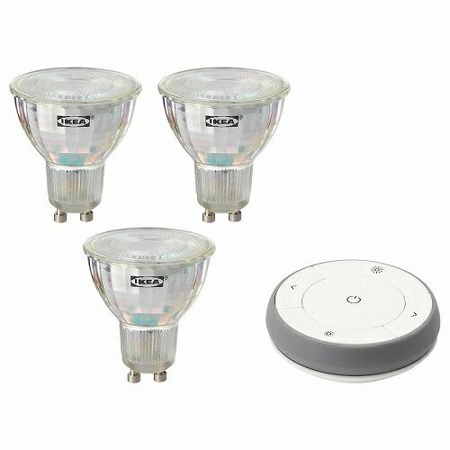 送料無料 IKEA イケア 在庫一掃売り切りセール 照明 ライト LED電球リモコン ホワイトスペクトラム ☆最安値に挑戦 TRADFRI リモコンキット m90406576 Gu10
