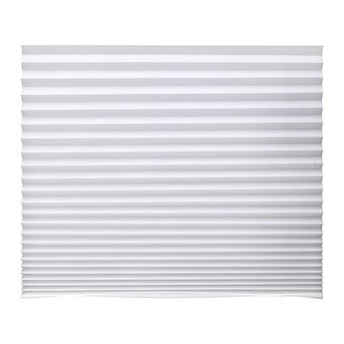 送料無料 IKEA イケア おしゃれ カーテン ブラインド 正規逆輸入品 横型 ホワイト 90x190cm 新品未使用 白 d40242281 プリーツブラインド SCHOTTIS