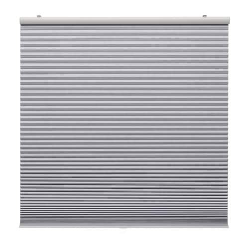 IKEA イケア TRIPPEVALS 遮光断熱ブラインド ライトグレー100x195 z40336897