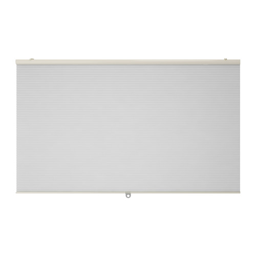 送料無料 店舗 IKEA イケア おしゃれ カーテン ブラインド 横型 100x155cm ホワイト HOPPVALS 白 最安値に挑戦 断熱ブラインド d60290624