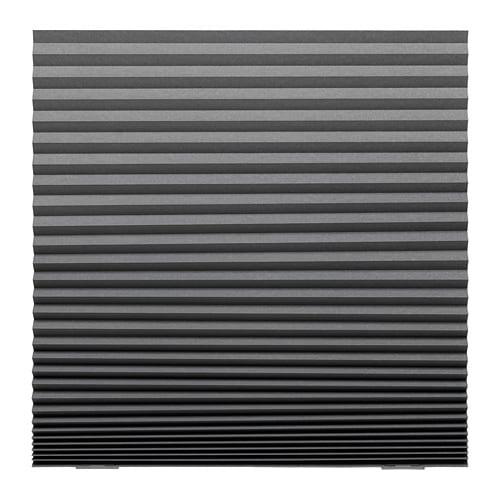 送料無料 IKEA イケア クッション 店舗 カーテン ブラインド SCHOTTIS ダークグレー 100x190cm 期間限定の激安セール 遮光プリーツブラインド 横型 z70369508