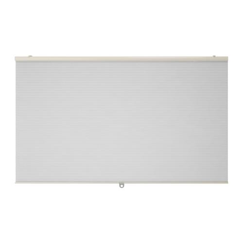 送料無料 保証 IKEA イケア おしゃれ カーテン ブラインド 横型 入荷予定 断熱ブラインド 120x155cm ホワイト HOPPVALS d80290623 白